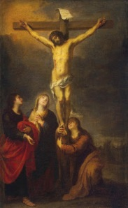 The Apostle John and Mary at the foot of the Cross