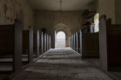 church-door-open-letting-light-h-jerup-kirke-stevns-klint-denmark-40837897