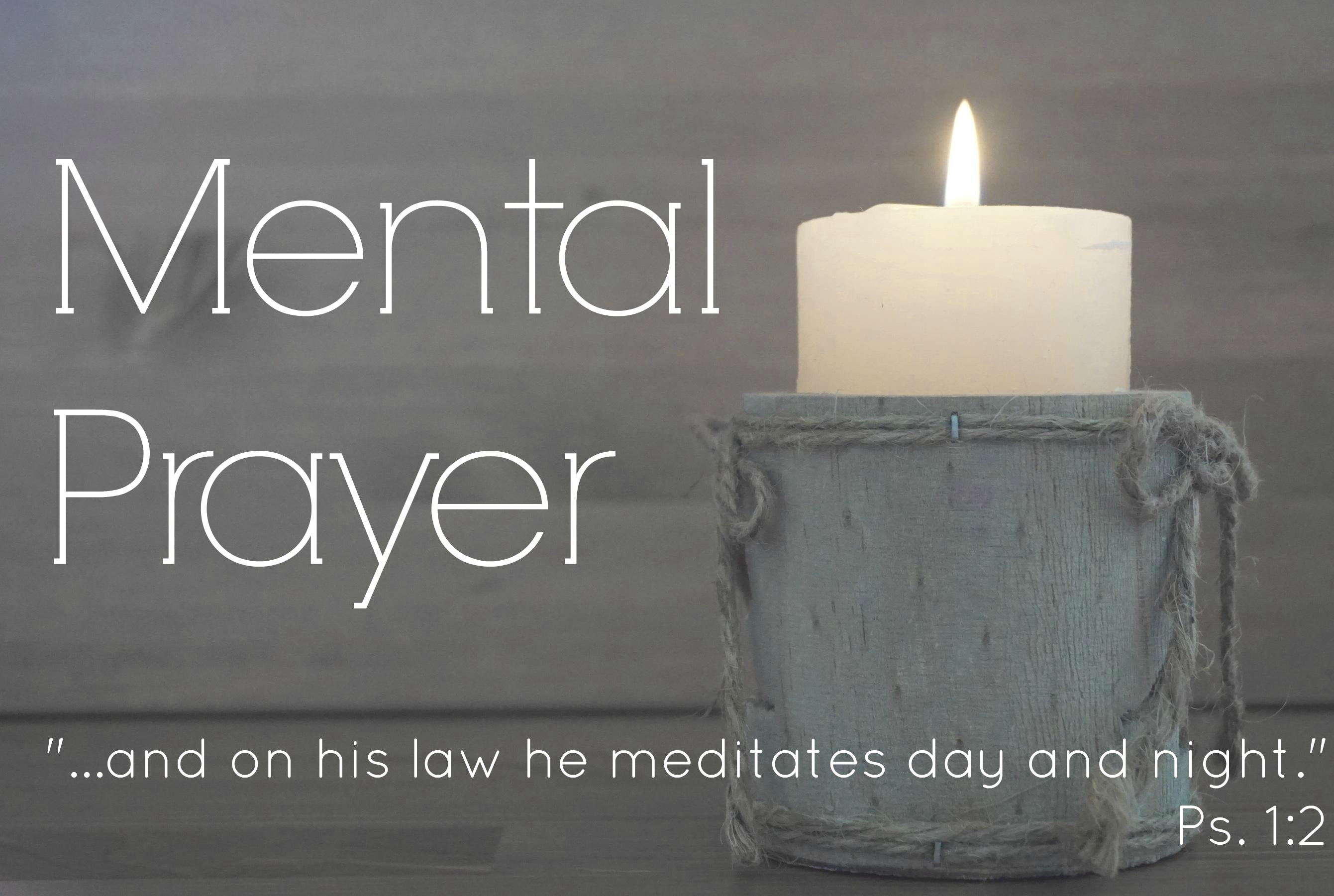 Mental Prayer